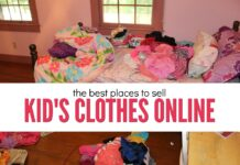 places to sell kids clothes